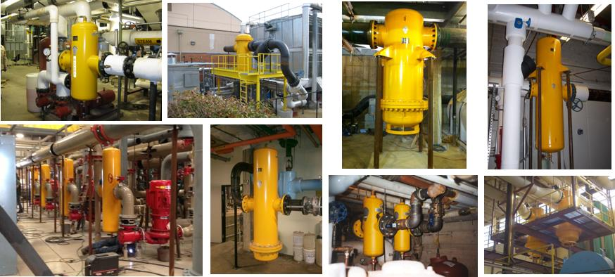 High Efficiency Coalescing Air Separators Www Spirotherm Com