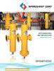 VHT / VHN - Spirovent High Velocity Combination Air / Dirt Separators